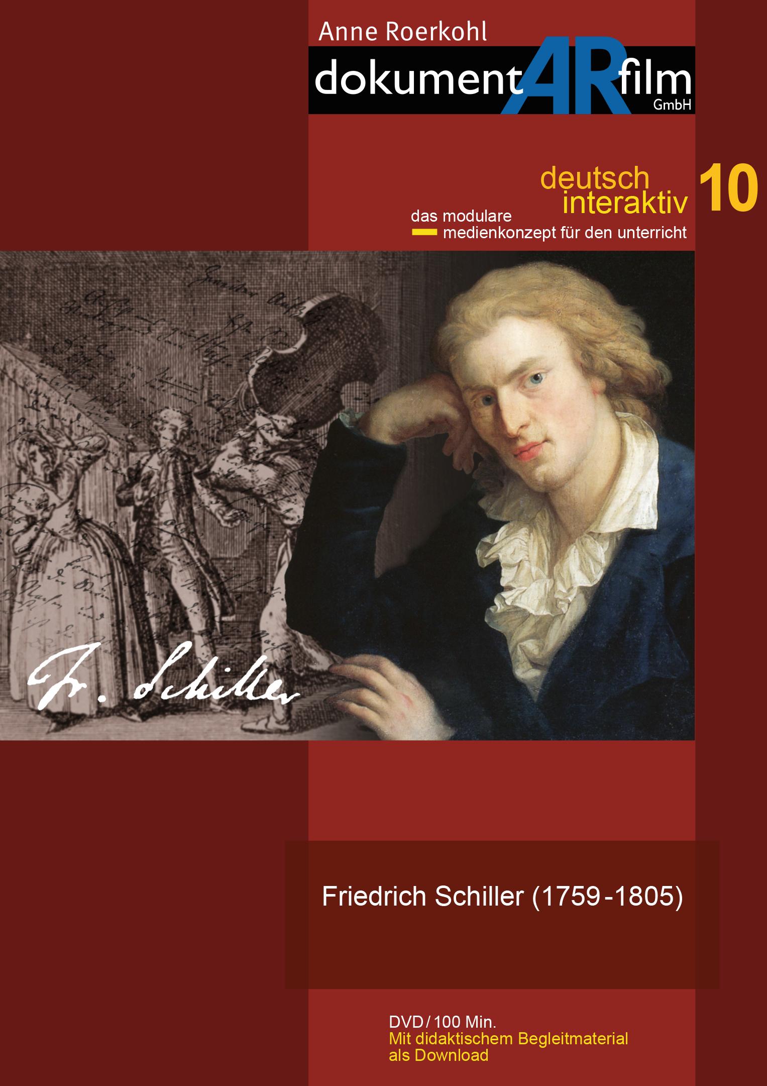 DI10 Friedrich Schiller 1759 1805 Friedrich Schiller Anne